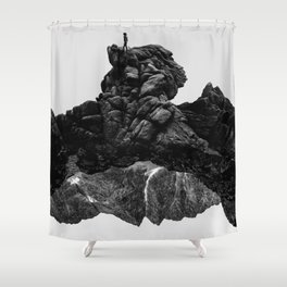 Isolate Me Shower Curtain