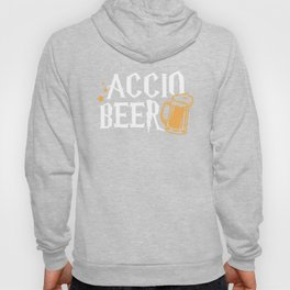 Accio Beer Potter Magic Spell Drink Funny Party Gift T-Shirt Hoody