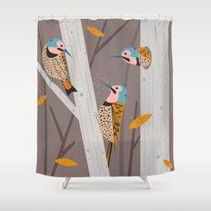 Ratta Tat Tat Shower Curtain