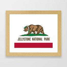 Jellystone National Park  Framed Art Print