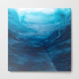 Dive into the deep blue sea Metal Print