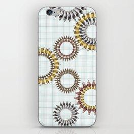 Spinning Wheels iPhone Skin