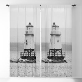 The Grand Lighthouse - Hamptons Style Blackout Curtain