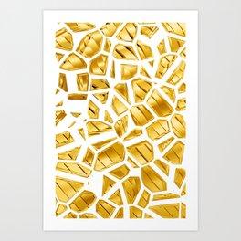 Goldie VII Art Print