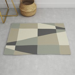 Impefect Triangles Rug