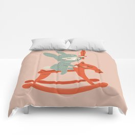 Rabbit Knight Comforters