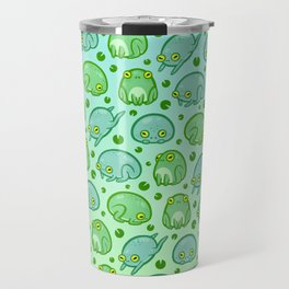 Friendly Frogs Travel Mug