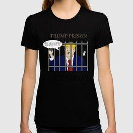 "TRUMP PRISON ""Lock Him Up"" T-shirt"