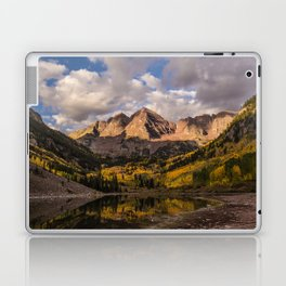 Beginning of Fall at Maroon Bells Laptop & iPad Skin