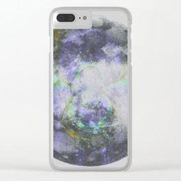 Crystal Moon Clear iPhone Case