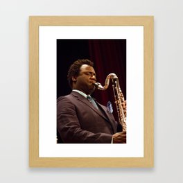 Myron Walden from the Brian Blade and the Fellowship Band. XII Panama Jazz Festival Framed Art Print
