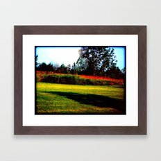 Picking the Straw from our Clothing Framed Art Print