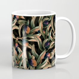Vintage Olives Branches Night Garden Coffee Mug