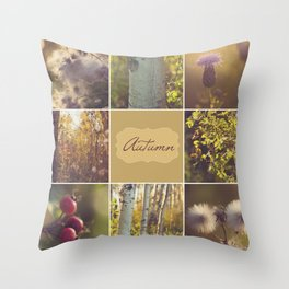 Autumn Beauty - Vignette Throw Pillow