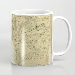 Antique Celestial Map June May April Coffee Mug
