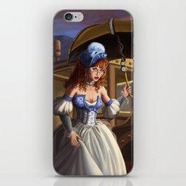 Steampunk Cinderella iPhone Skin