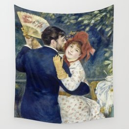 Auguste Renoir - Country Dance Wall Tapestry