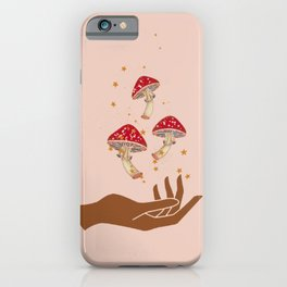 Mushroom Magic iPhone Case