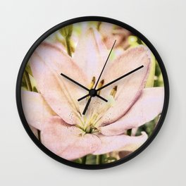 Time to Blossom Wall Clock