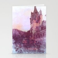castle Stationery Cards featuring Castle by Nechifor Ionut