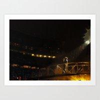 Bono Brings Rain Art Print