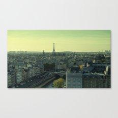 Green Hues Canvas Print