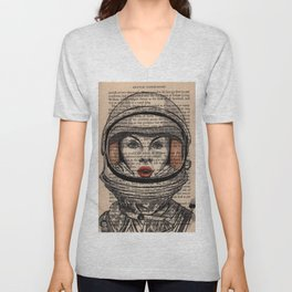 Space oddity Unisex V-Neck