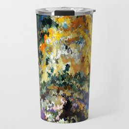 modern composition 08 by rafi talby Travel Mug