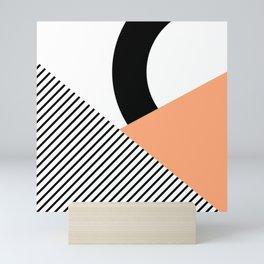 Geometrical shapes 2 Mini Art Print