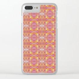 zakiaz bohemian abstract Clear iPhone Case