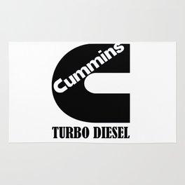 Turbo diesel Rug