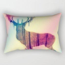 Deer colorful Rectangular Pillow
