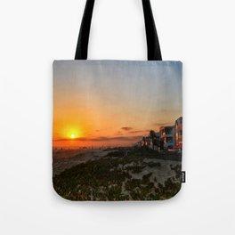 sunset beach CA Tote Bag