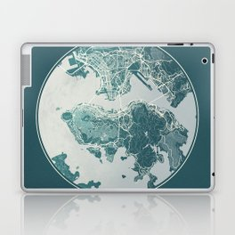 Hong Kong Map Planet Laptop & iPad Skin