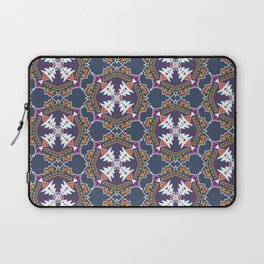 apache, tribal pattern in grey Laptop Sleeve