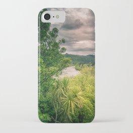 River Storm Clouds iPhone Case