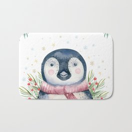 Penguin Face Bath Mat