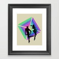 passengers in space Framed Art Print