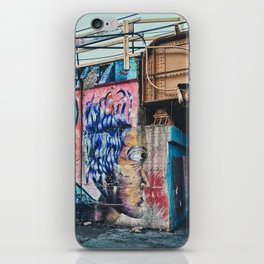 CTA line street art / graffiti iPhone Skin