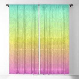 Summer - Flipped Sheer Curtain