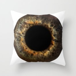 EYE Love to See You, Amber Throw Pillow