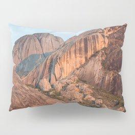 Sunset on Madagascar mountains Pillow Sham