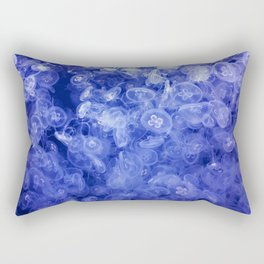 Jellyfish ocean Rectangular Pillow