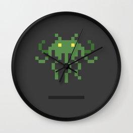 Cthulhu Invader Wall Clock