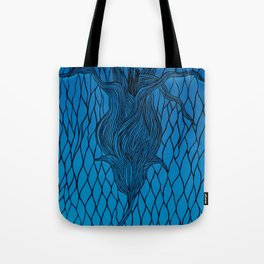 A paper flower Tote Bag