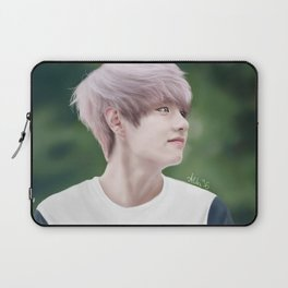 V - BTS  Laptop Sleeve