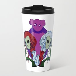 Snow White and Red Rose Travel Mug