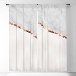 Park Avenue pearl marble Blackout Curtain