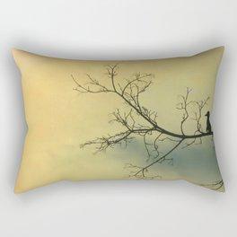 Solitude Mood Rectangular Pillow