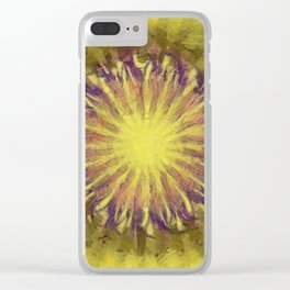 Horticulturally Balance Flower  ID:16165-124321-21420 Clear iPhone Case